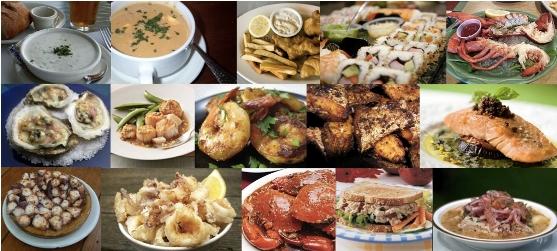 奥维拉老街市集 拉丁海鲜美食节